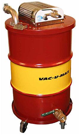 Vac U Max Air Operated Industrial Vacuum Cleaners