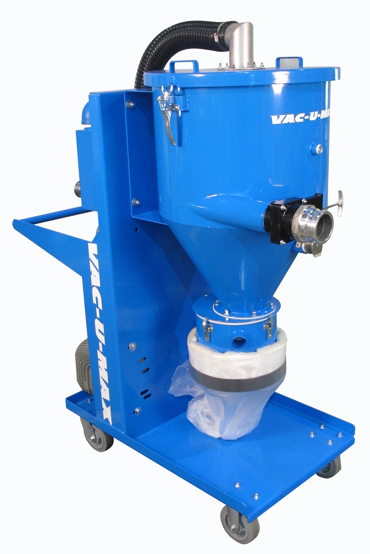 Industrial Suction Systems : Vac u max continuous duty vacuums
