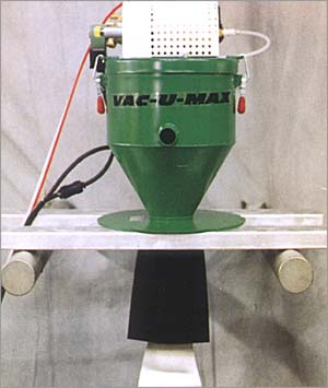 Vacuum Conveyor for Hot Melt Glue Chips