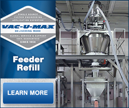 VAC-U-MAX Receiver refilling Acrison Screw Feeder