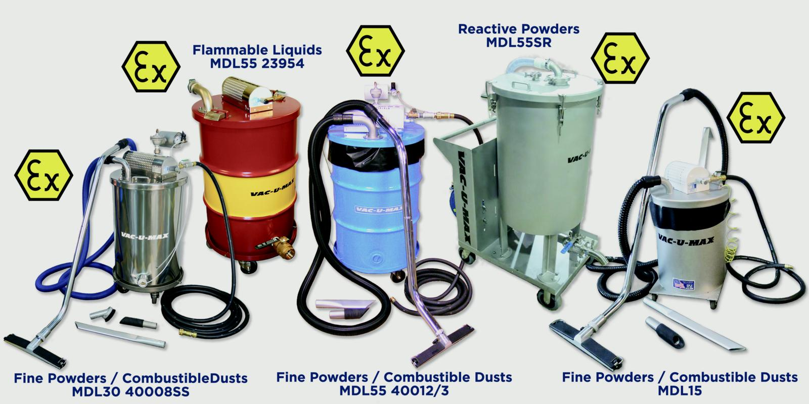 VAC-U-MAX | Case Histories | Sweeping Dust & Debris Can Blow