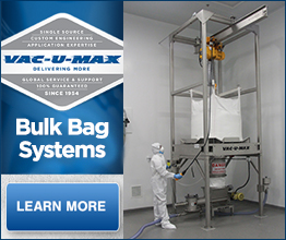VAC-U-MAX | News | VAC-U-MAX Exhibits Processing Solutions